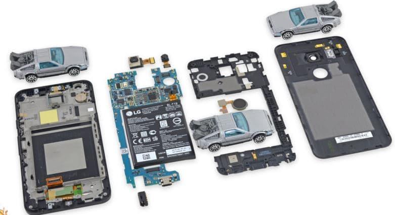 Nexus 5X demonte