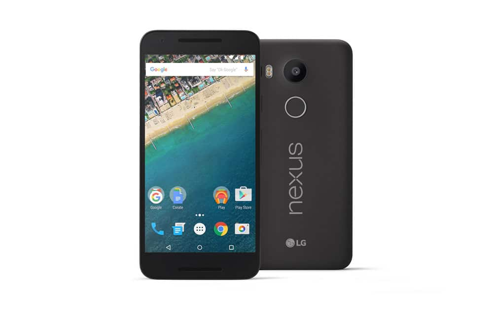 nexus 5x android marshmallow