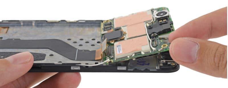 Nexus 6P demontage carte mere