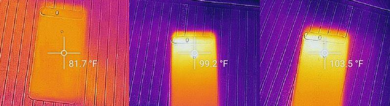 Nexus 6P temperature