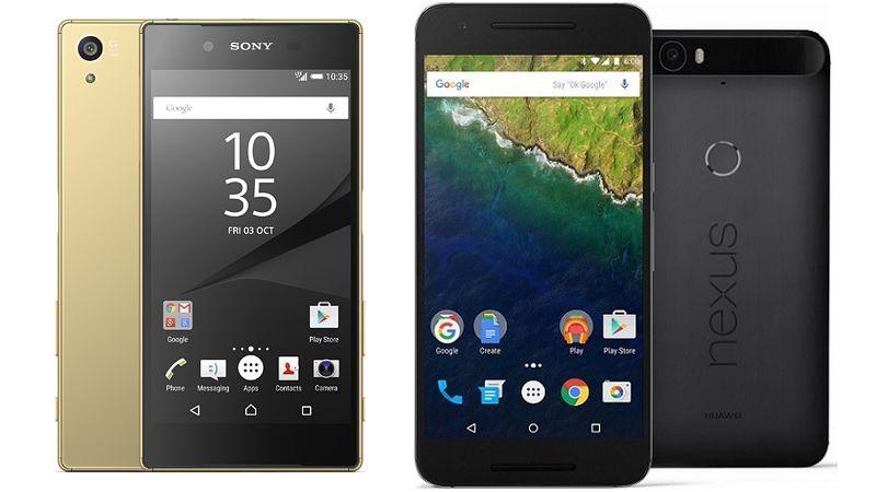 Nexus 6P Sony Xperia Z5