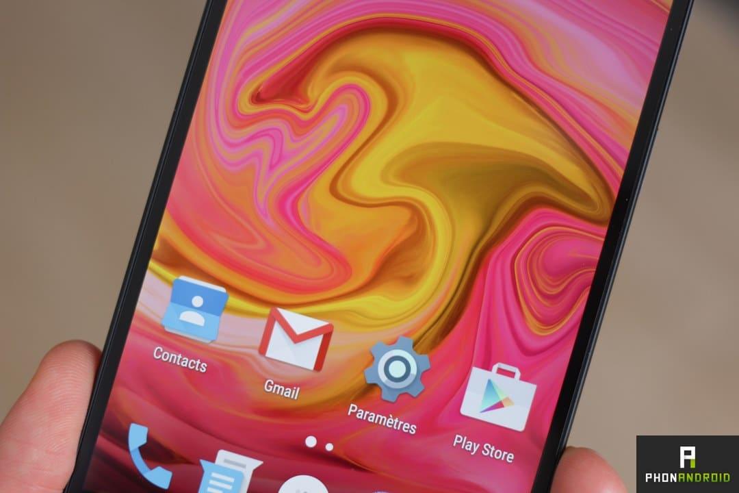 OnePlus X ecran