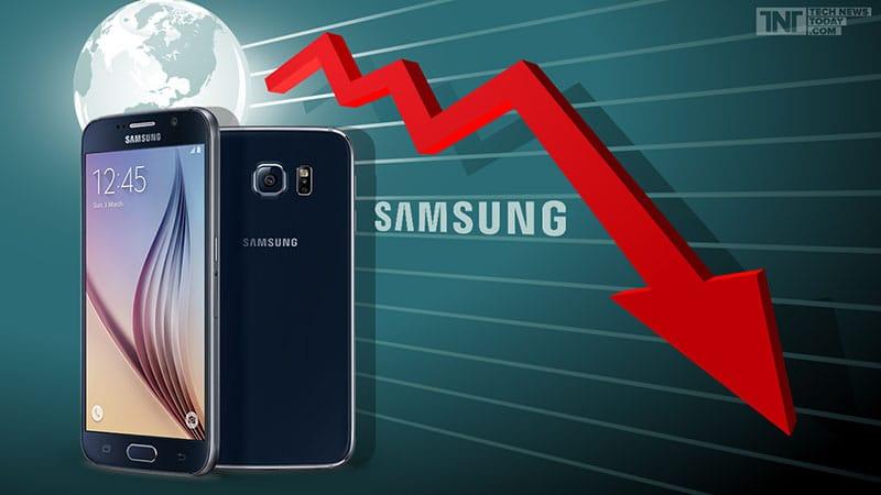 samsung declin 2015 galaxy s6