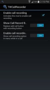 Samsung TWCall Recorder 2