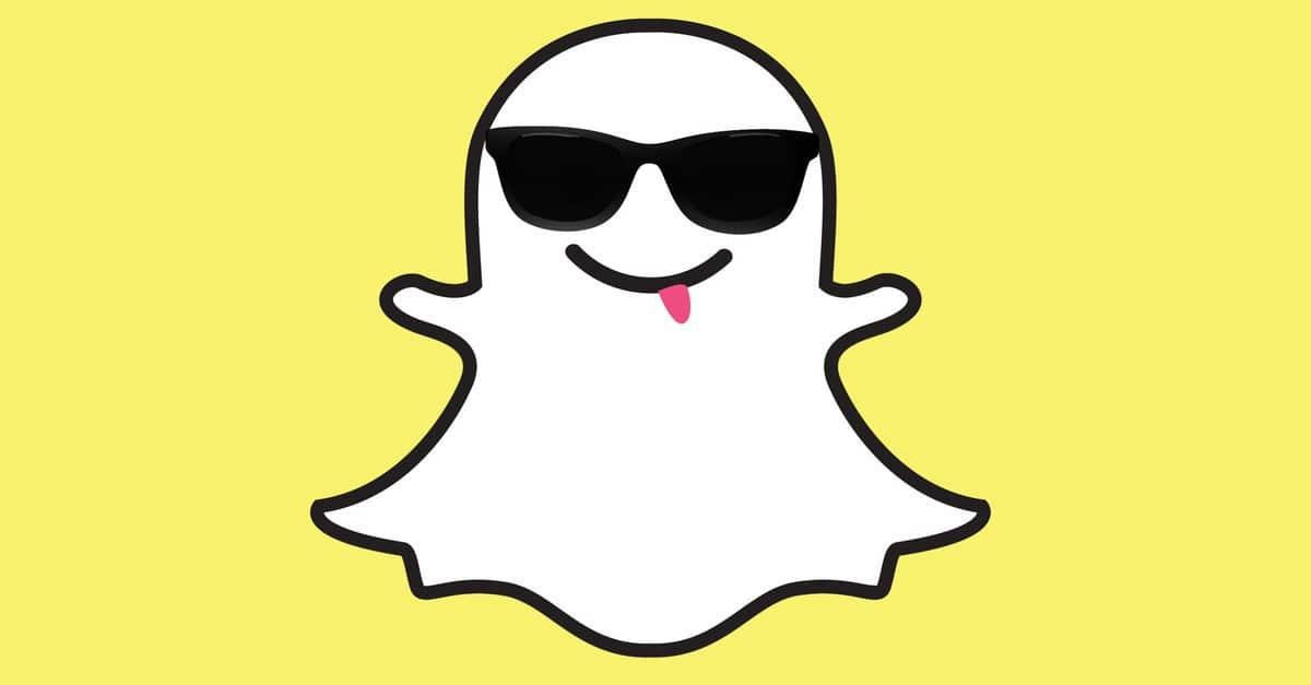Snapchat effets selfies sponsorises