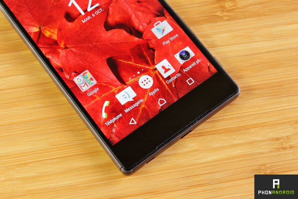 sony xperia z5 touche tactile