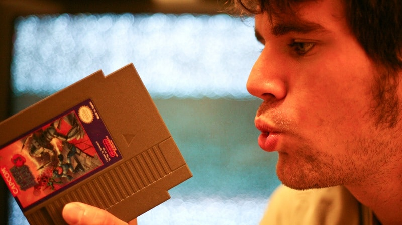 souffler cartouche NES