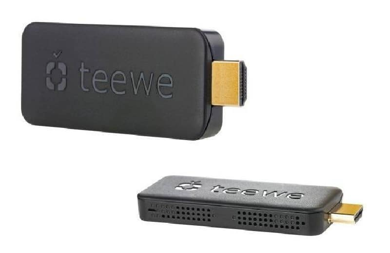 teewe la cl hdmi qui veut tuer le chromecast de google. Black Bedroom Furniture Sets. Home Design Ideas