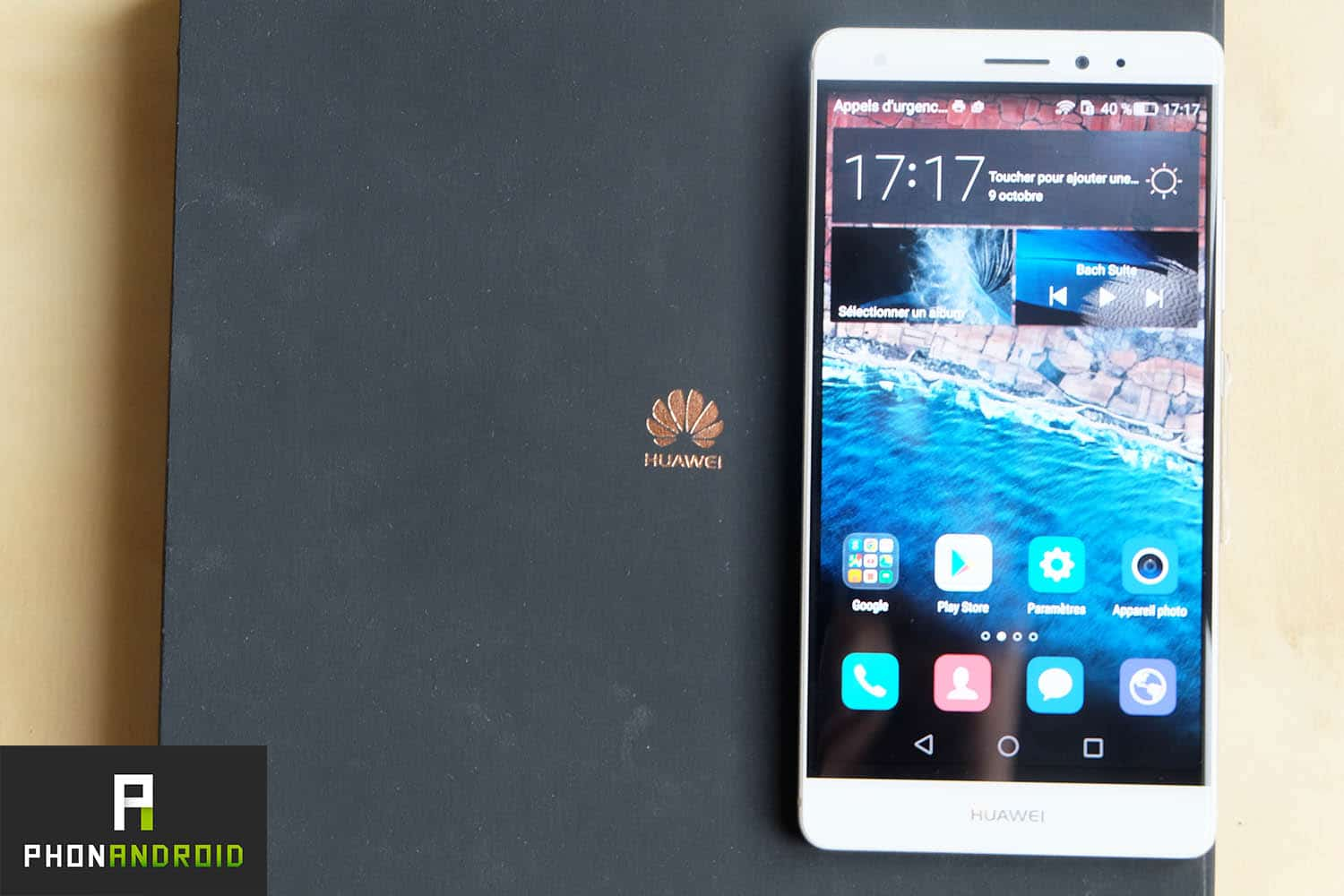 test huawei mate s design ecran