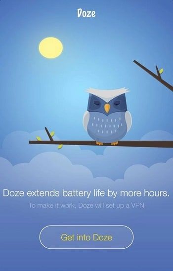 Doze application