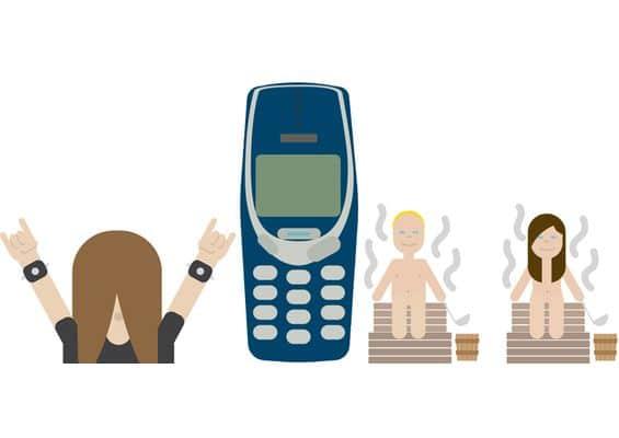 Finlande Emoji Nokia 3310