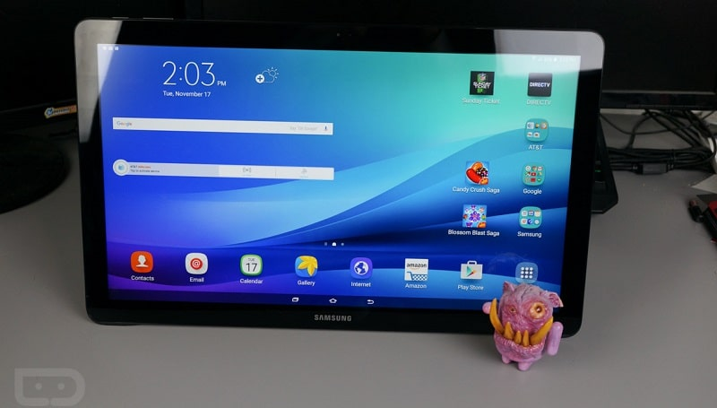 Galaxy View Tablette