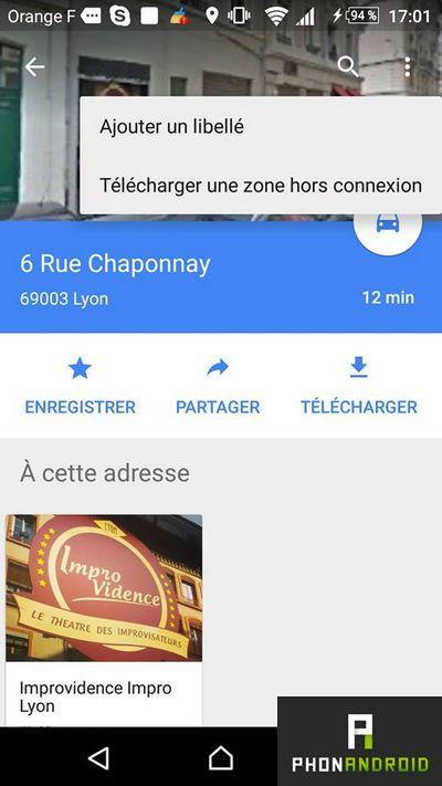 Google Maps libelle