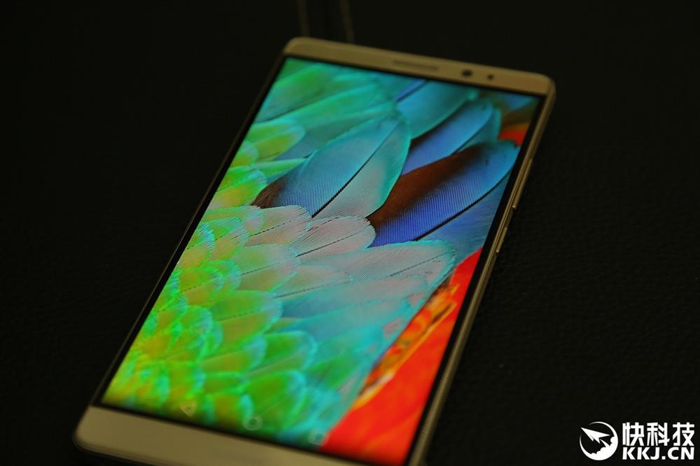 Huawei Mate 8 angles vue