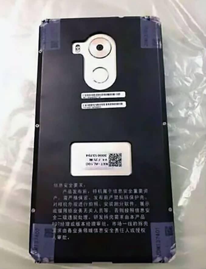 Huawei Mate 8 appareil photo