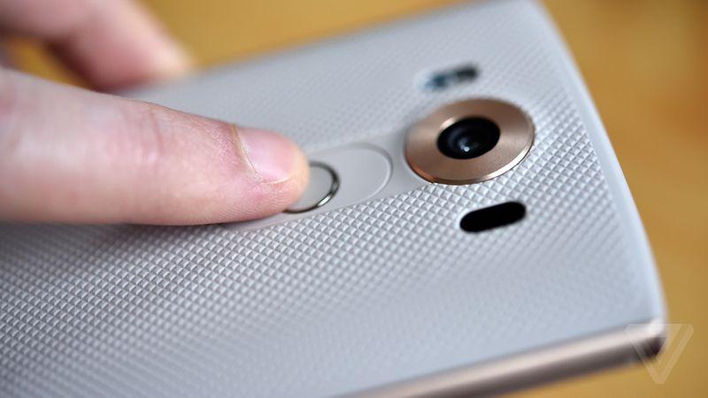 LG V10 lecteur empreintes