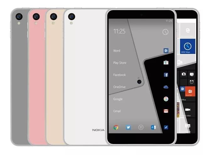 Nokia C1 rendu