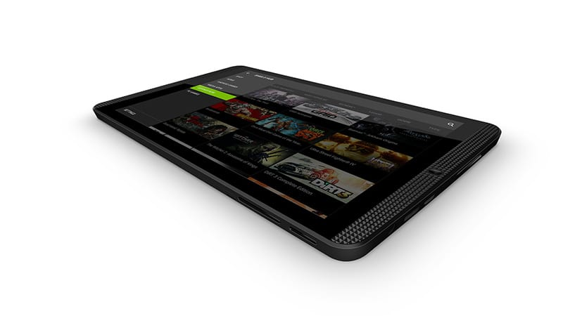 nvidia shield tablet k1 design face