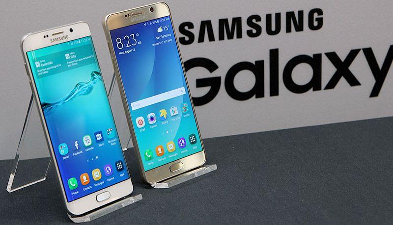 Samsung marche smartphones