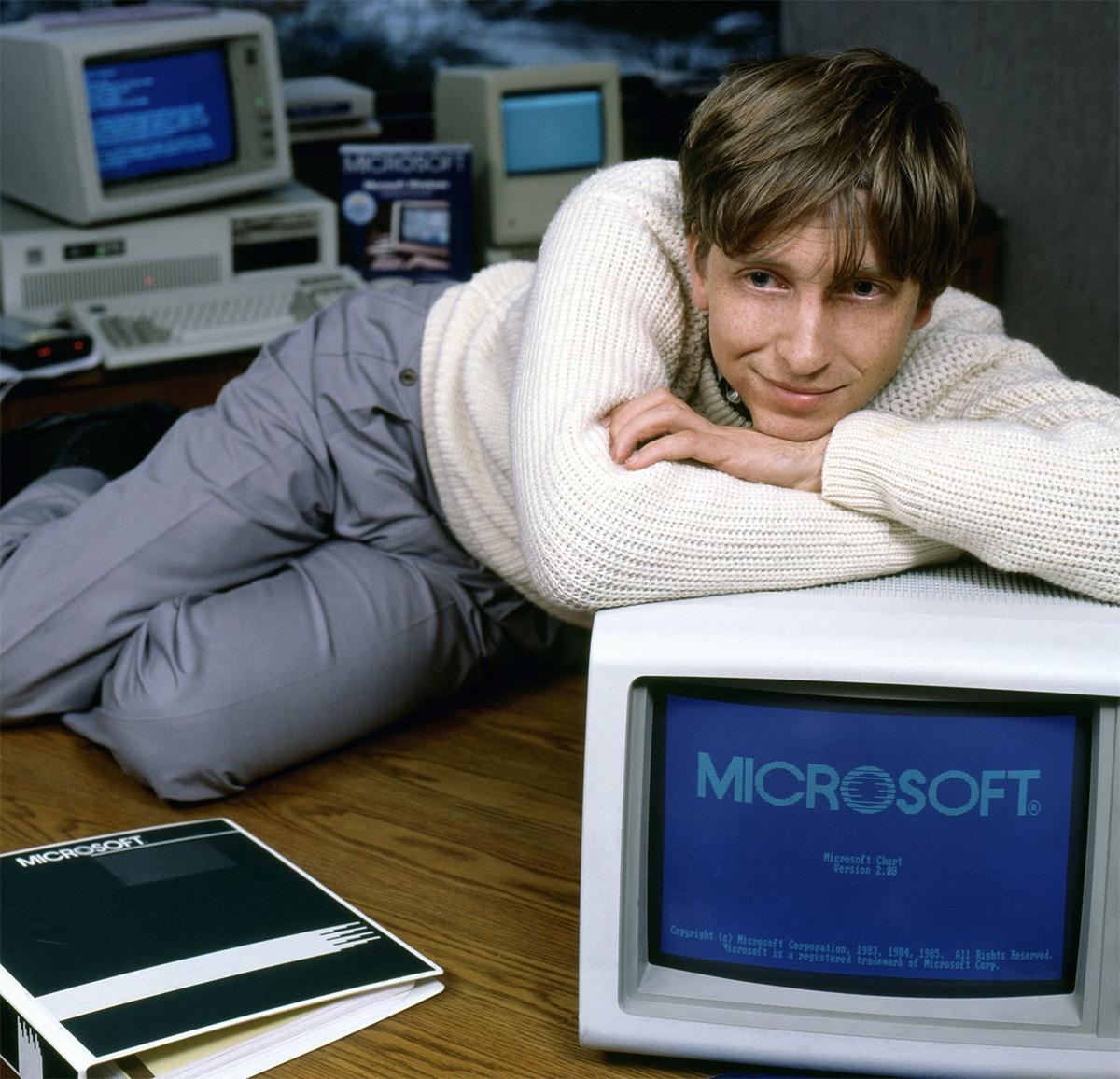 Windows 2.0 Bill Gates