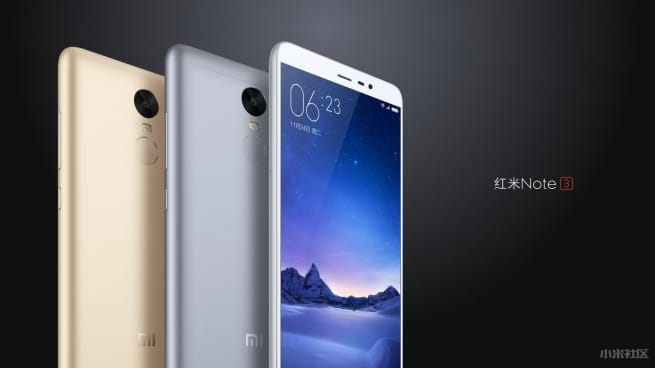 Xiaomi Redmi Note 3 ecran