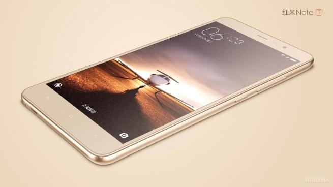 Xiaomi Redmi Note 3 face