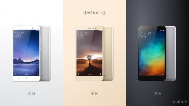 Xiaomi-Redmi-Note-3-modeles