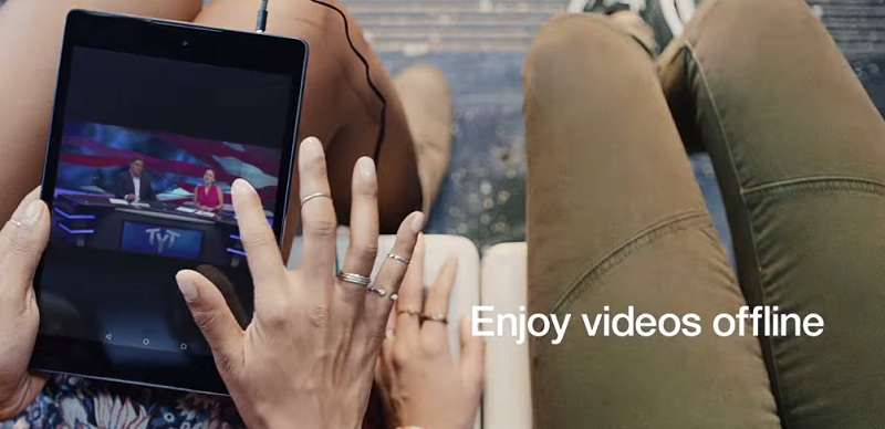 Youtube Red hors-connexion