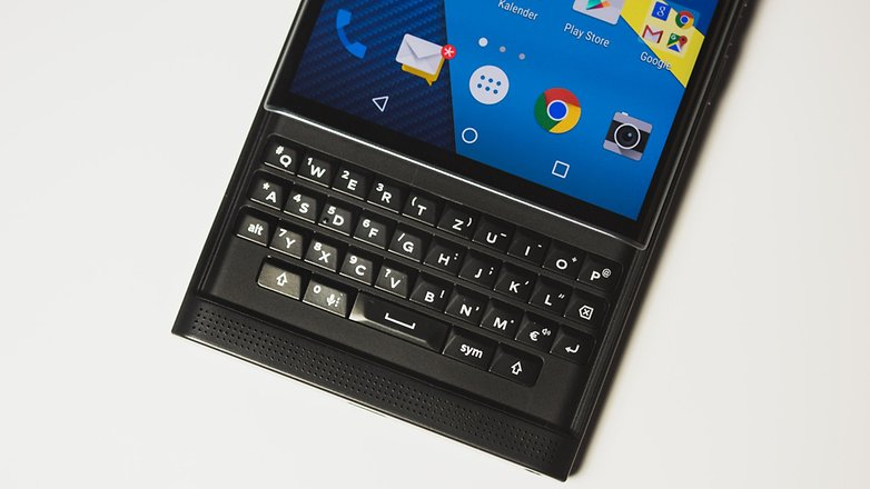 blackberry priv clavier