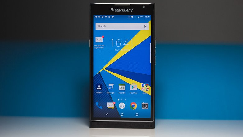 blackberry priv test revue