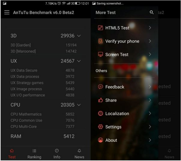 AnTuTu 6 interface