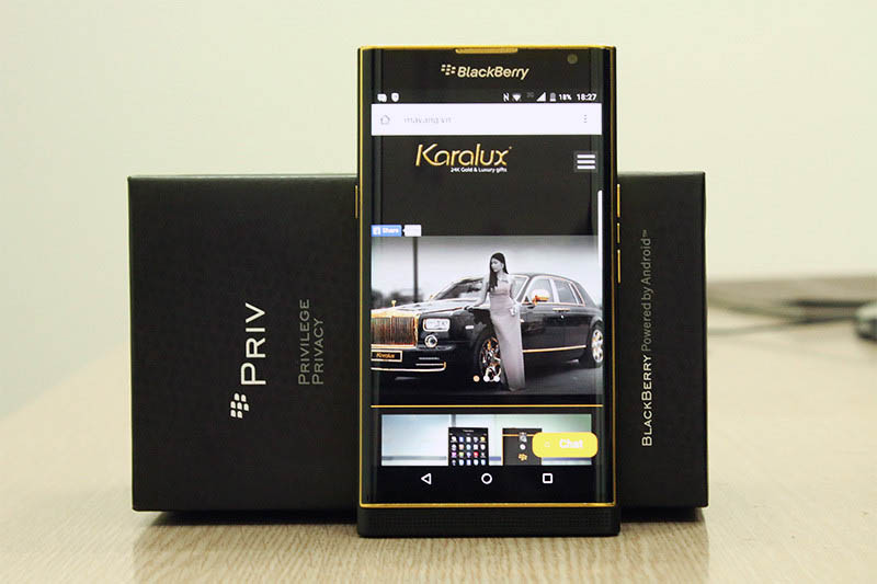 blackberry priv or