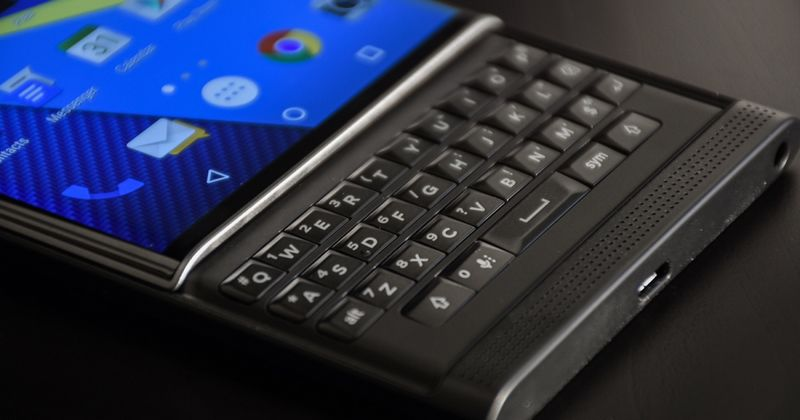 BlackBerry smartphones Android