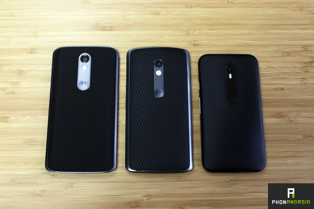 comparatif moto x force style moto g