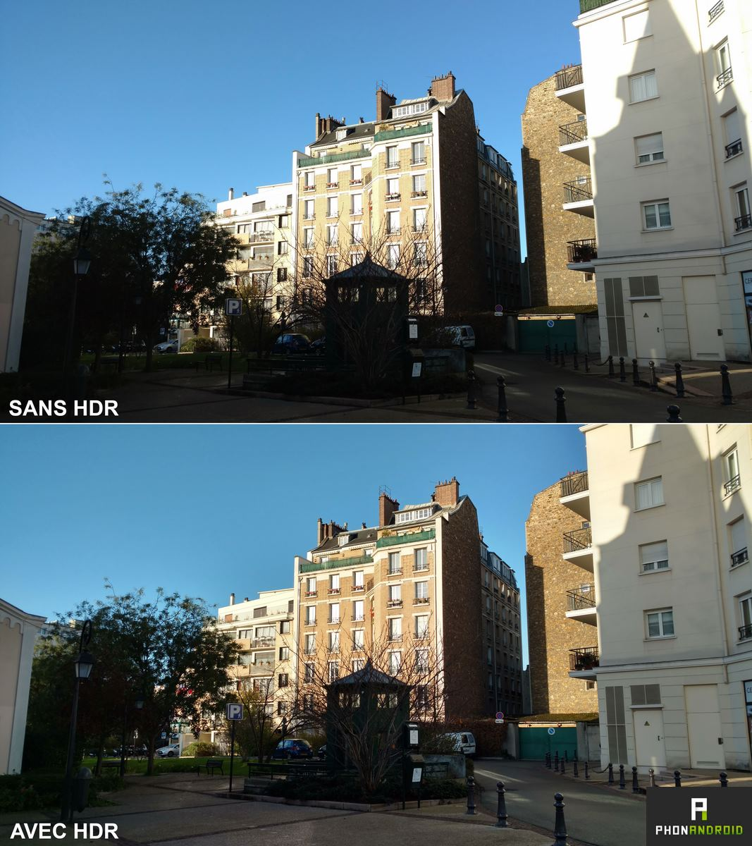 comparatif photo hdr moto x force