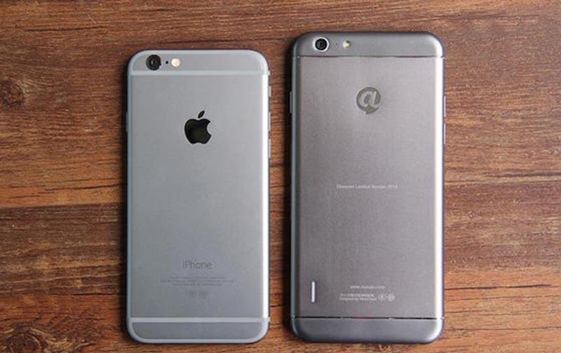 copie iphone ridicule