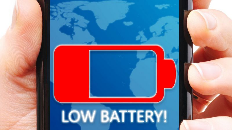 ecran batterie