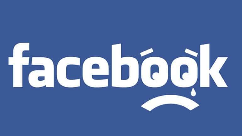 facebook deprime triste