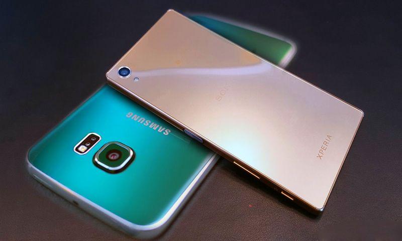 Galaxy S7 Sony Xperia Z5
