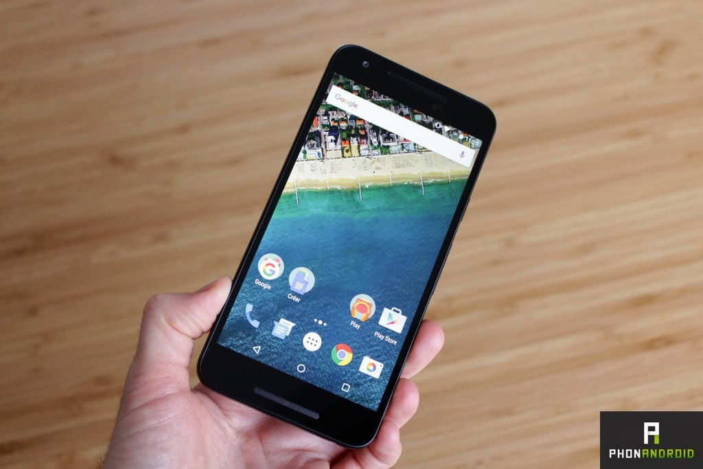 google nexus 5x test