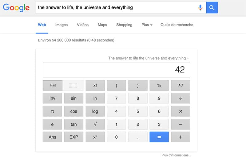 google question existentielle
