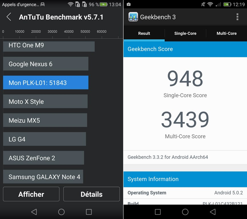 honor 7 benchmark antutu