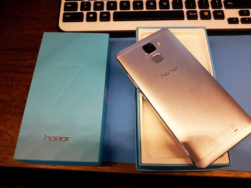 honor 7 unboxing