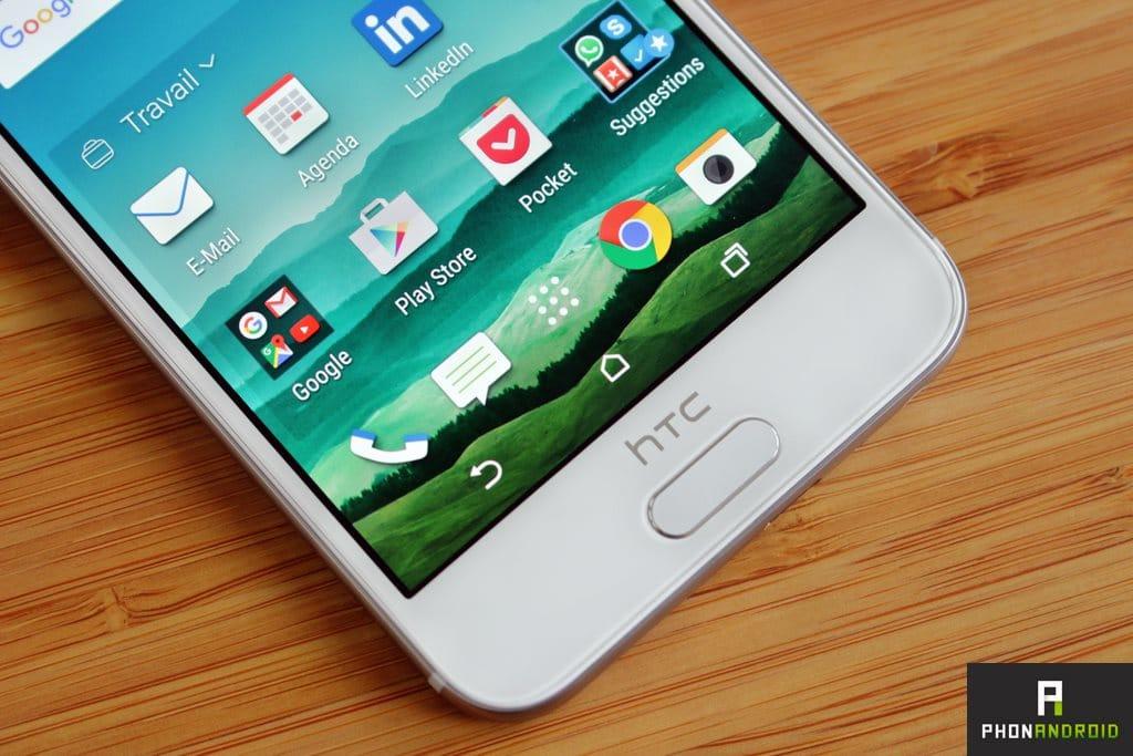 HTC One A9 lecteur empreintes