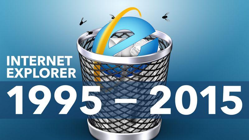 internet explorer fin