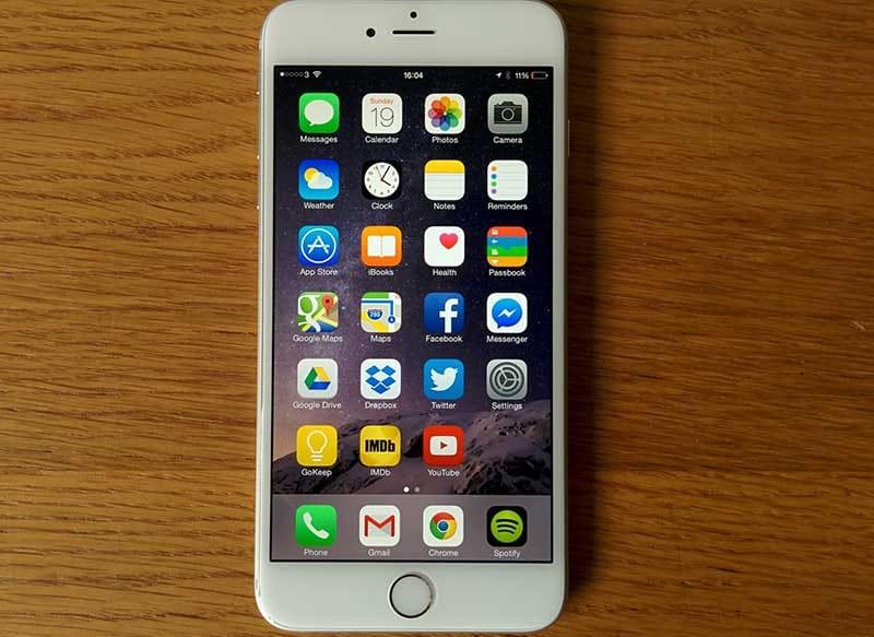 iphone 6s anandtech test meilleur smartphone