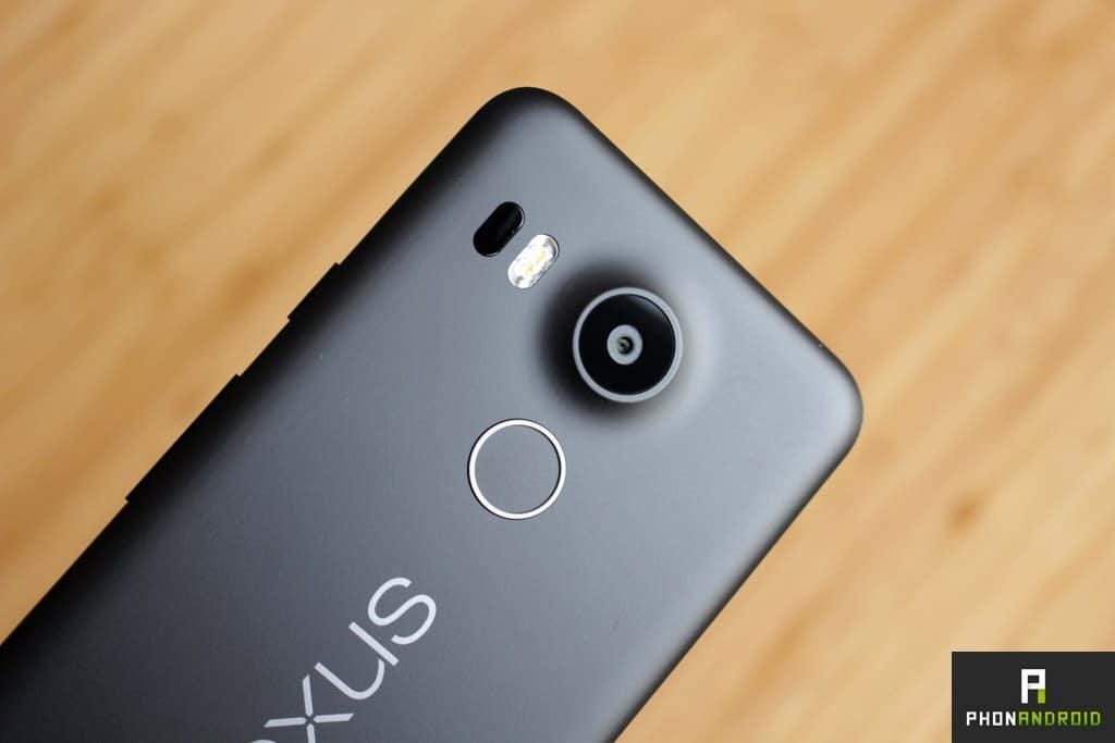 Nexus 5X lecteur empreintes