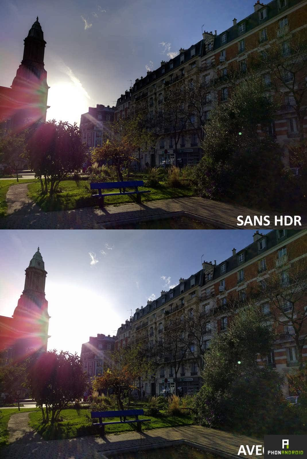 nexus 5x photo hdr comparatif
