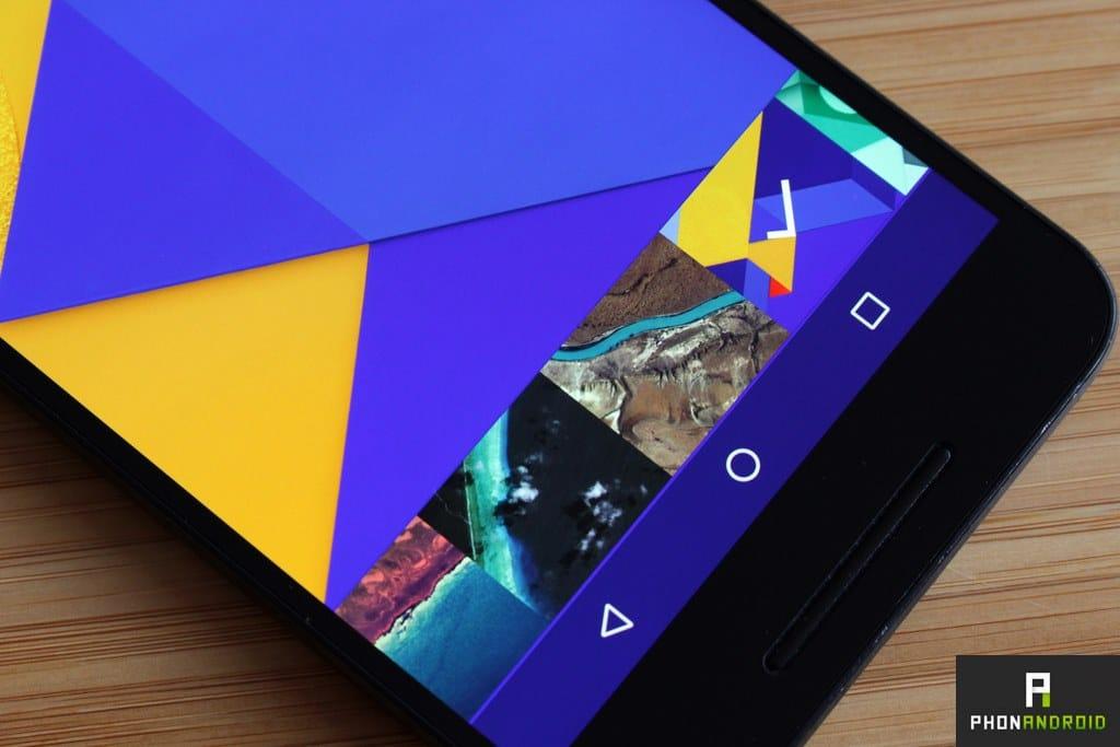 nexus 6p couleur ecran