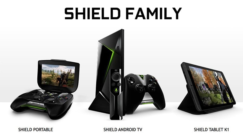 nvidia shield gamme